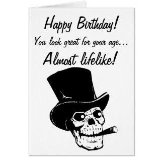 Cartes Joyeux anniversaire ! Vous regardez presque