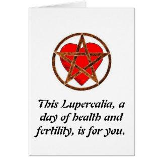 Cartes Joyeux Lupercalia