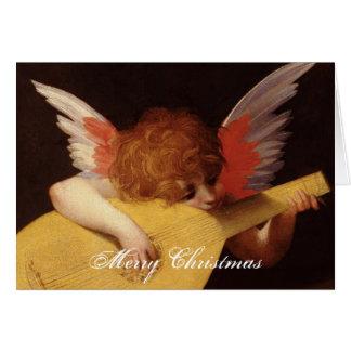 Cartes Joyeux Noël d'ange musical