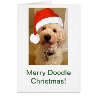 Cartes Joyeux Noël de griffonnage !