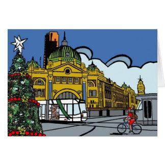 Cartes Joyeux Noël de Melbourne