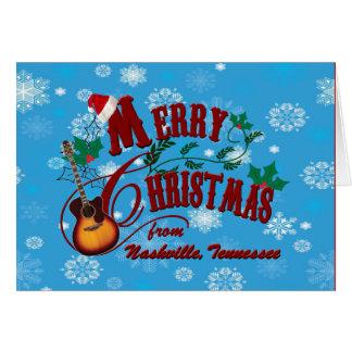 Cartes Joyeux Noël de Nashville
