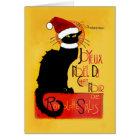Cartes Joyeux Noël Du Chat Noir