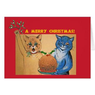 Cartes Joyeux Noël du #holidayz de chats