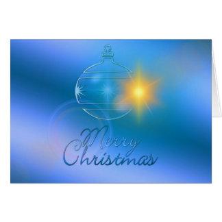 Cartes Joyeux Noël, ornement, affaires