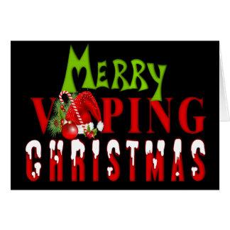 Cartes Joyeux Vaping Noël de VAPE |