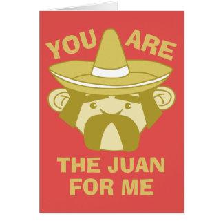 Cartes Juan pour moi