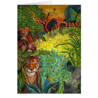Cartes Jungle indienne