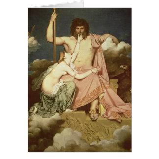 Cartes Jupiter et Thetis, 1811