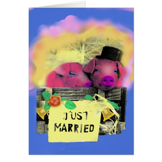 Cartes just married