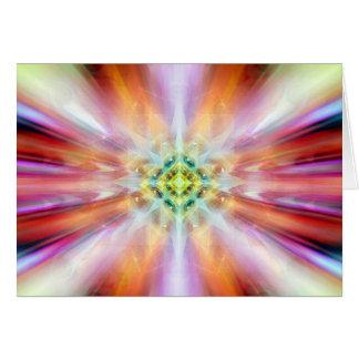 Cartes kaliedoscope éthéré cosmique de l'observation