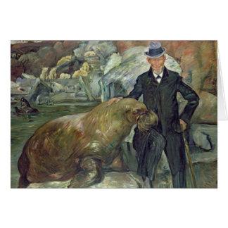 Cartes Karl Hagenbeck dans son Zoo, 1911