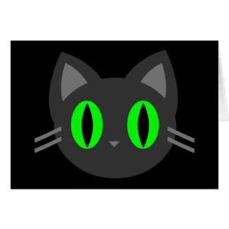 Cartes Kawaii Kitty Halloween