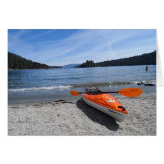 Cartes Kayak du lac Tahoe