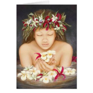 "Cartes ""Ke'ala"", peinture à l'huile par Lori Higgins"
