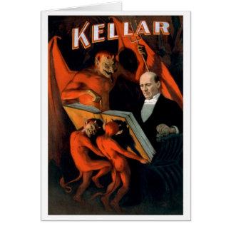 "Cartes Kellar - ""carte des instructions du diable"""
