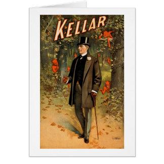 Cartes Kellar le magicien avec des diables - annonce