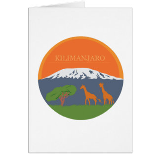Cartes Kilimanjaro