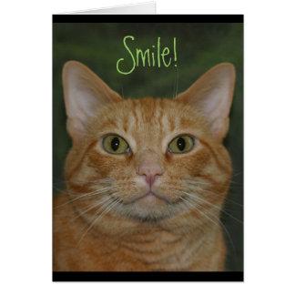 Cartes Kitty de sourire