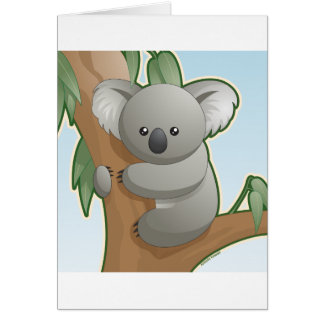 Cartes Koala de Kawaii