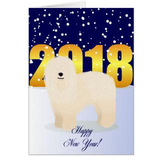 Cartes Komondor de bonne année