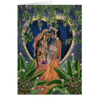 Cartes Krishna et Radha