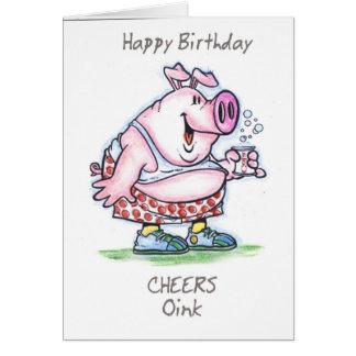 "Cartes ""krouik-krouik"" joyeux anniversaire"