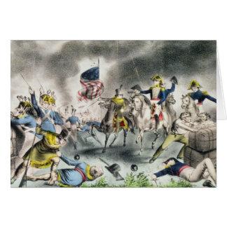 Cartes La bataille de la Nouvelle-Orléans, pub. Nathaniel