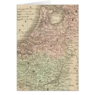 Cartes La Belgique et la Hollande