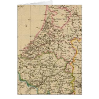 Cartes La Belgique et la Hollande, 1812