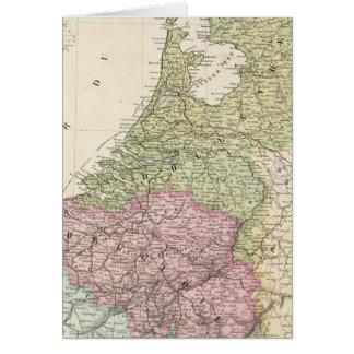 Cartes La Belgique et le Pays-Bas 2