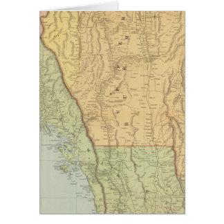 Cartes La Birmanie et les pays limitrophes