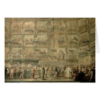 Cartes La boule masquée, c.1767