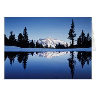 Cartes La Californie, sierra montagnes de Nevada,