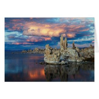 Cartes La Californie, sierra montagnes de Nevada