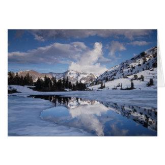 Cartes La Californie, sierra montagnes de Nevada, crête