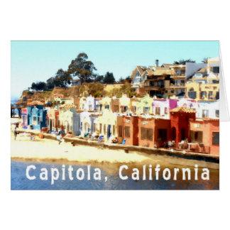 Cartes La Capitola-Californie