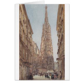 Cartes La cathédrale de St Stephen à Vienne par Vo de
