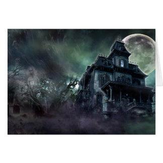Cartes La Chambre hantée paranormale