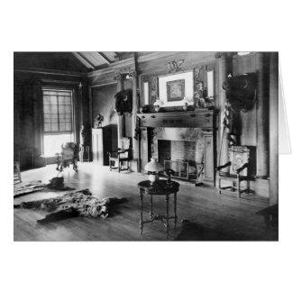 Cartes La chasse Room, 1905 de Teddy Roosevelt