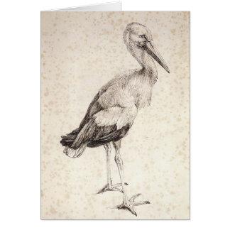 Cartes La cigogne