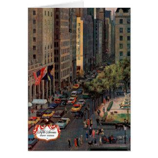 Cartes La Cinquième Avenue par John hésitent