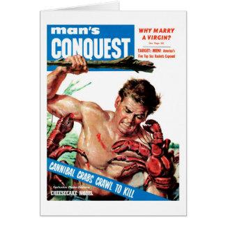 Cartes La conquête de l'homme - crabes de cannibale