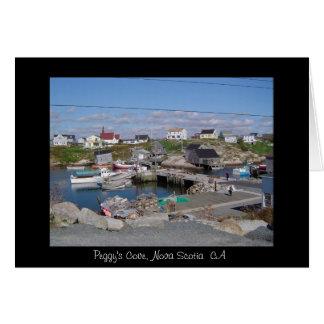 Cartes La crique de Peggy, la Nouvelle-Écosse CA