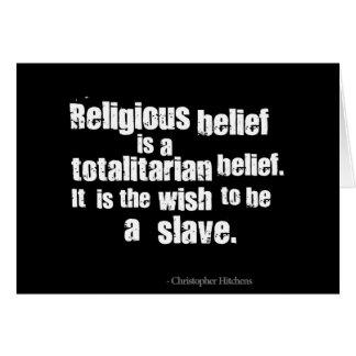 Cartes La croyance religieuse est une croyance