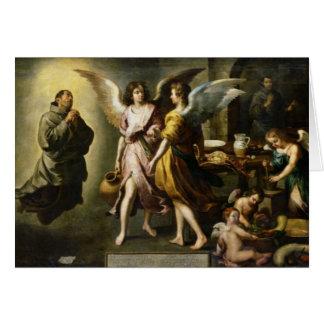 Cartes La cuisine des anges, 1646