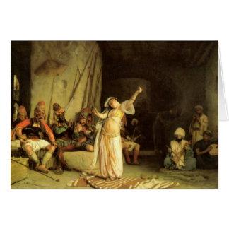 """Cartes """"La danse de l'Almeh"""", par Jean Léon Gerome"""
