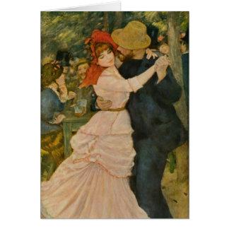 Cartes La danse de Pierre-Auguste Renoir chez Bougival
