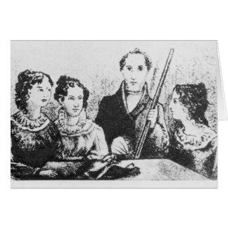 Cartes La famille de Bronte