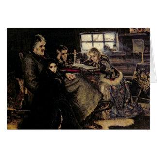 Cartes La famille de Menshikov en Beriozovo, 1883